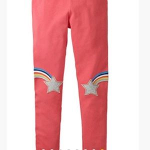 🌈 Adorable! NWT rainbow and star leggings 3T 🌈